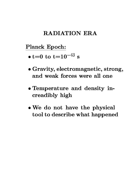 nucleosynthesis era last